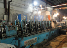 ERW pipe workshop