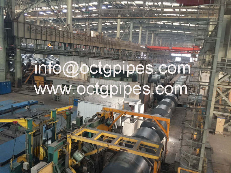 steel coil production line